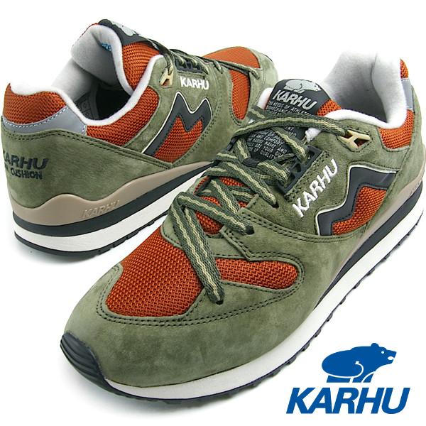 KARHU カルフ Synchron Classic (シンクロンクラシック) OliveNight /Maison (オリーブナイト/メゾン) MEN スニーカー