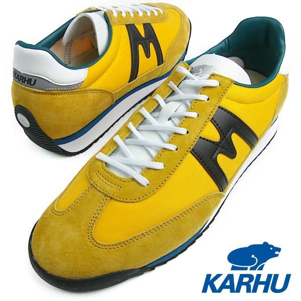 KARHU カルフ メンズ レディース CHAMPIONAIR(チャンピオンエアー) GOLDEN ROAD/BLACK ゴールデンロード/ブラック スニーカー 送料無料