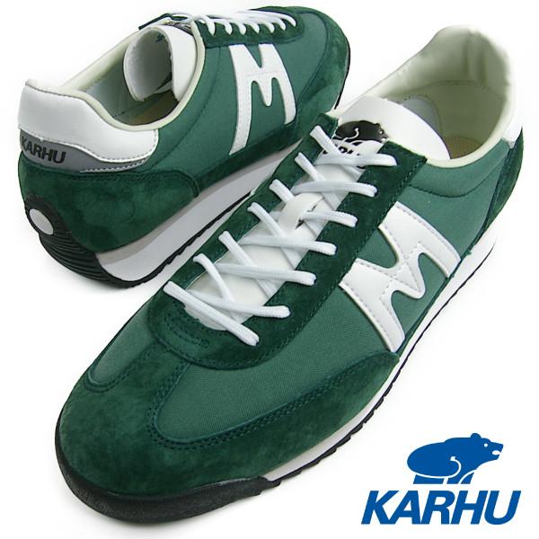 KARHU カルフ メンズ レディース CHAMPIONAIR(チャンピオンエアー) GREEN /WHITE グリーン/ホワイト スニーカー 送料無料