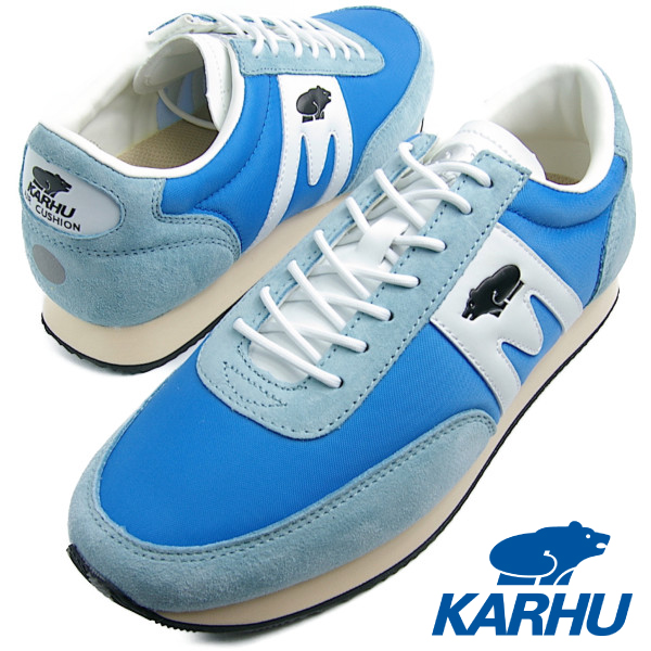 "KARHU カルフ メンズ レディース ALBATROSS(アルバトロス) ""KAHVIHETKI PACK 1"" BLUE ASTER / WHITE ブルーアスター/ホワイト スニーカー"