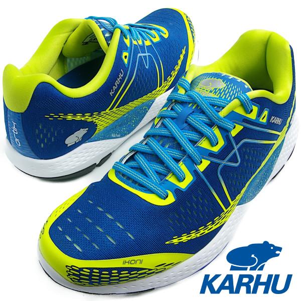 KARHU カルフ IKONI ORTIX イコニ オルティックス STRONG BLUE/LLIME PUNCH MEN ストロングブルー/ライムパンチ MEN スニーカー ランニング