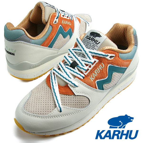 KARHU カルフ Synchron Classic (シンクロンクラシック) LilyWhite / WhitecapGray リリーホワイト/ホワイトキャップグレイ メンズ レディース MEN WOMEN スニーカー