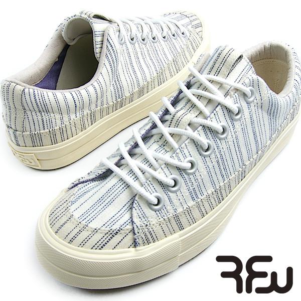 RFW BAGEL-LOW(ベーグル ロー)STRIPE White メンズ レディース スニーカー