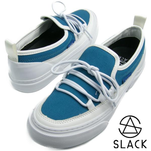 SLACK スラック INTLOOP (WHITE/GUM) イントループ シアンブルー/ホワイト【送料無料】 メンズ レディース スニーカー