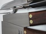 鉄板ステーキプロ用、ナイフ1、フーシェット1、ステーキ用返し2本、業務用、鉄板職人専用