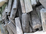 日向備長炭 1級 特選、12kg、宮崎備長炭 10~15cm位 樫ですので弾きにくい備長炭です