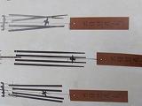 明珍火箸風鈴4本型 並 +竹炭5枚付