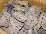 上土佐備長炭1級12kgx4--48kg1送料、フリーサイズ、馬目樫備長炭、リーズナブル、5~10cm位  備長炭生産地として有名な、土佐の高知の最高品質、最高級の備長炭です。非常に人気があり、火持ちも良く、弾きも少ないです。