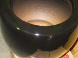 信楽黒火鉢、黒色11号、H330×W250オリジナル釉薬で紀州灰5kg、底ネンド1kg、底石1kg、南部鉄火箸、南部鉄灰慣らし付6点セット