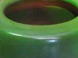 信楽モスグリーン火鉢、11号、W330×H250モスグリーン(オリジナル)今は懐かしい火鉢です。その中に和と洋の要素を取り入れ他には無い物です。御使用の仕方によっては、素晴らしい空間が産み出される事と思います。