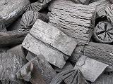 菊丸、クヌギ、カット 7,5kg箱、品質同、茶炭、クヌギ切れ端、茶道、焼き物