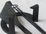 南部鉄3種セット、五徳小14cm、灰慣らし18cm、火箸28cm、南部鉄頑丈セット、