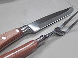 カービングナイフ、フーシェット、茶色 業務プロ用、