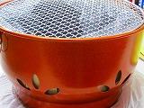 アルミ製 炭火コンロ 割烹ジャンボ炭火亭 300xH187