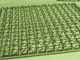 ステンレス角網 正方形200mm×200mm2枚 竹炭5枚付