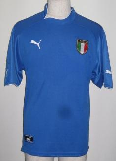 プーマ puma-pxa730744-01 2003-04 イタリア. 爆買い新作 ホーム レプリカ 選択 ゲーム シャツ 半袖