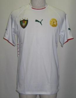 プーマ PUMA-PXA731086R-03 2004-05 カメルーン代表. サード レプリカ ゲームシャツ 半袖