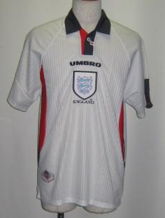 アンブロ 734755 1993-94  イングランド 代表 ホーム レプリカ ゲームシャツ 半袖