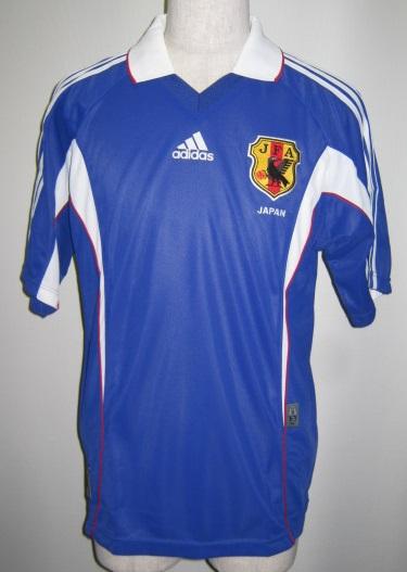 アディダス R0596-751839 2000-01 日本代表 ホーム レプリカ ユニホーム ゲームシャツ 半袖