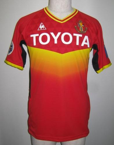 ルコック 2011 名古屋グランパス ACL ゲームシャツ QH74131GR