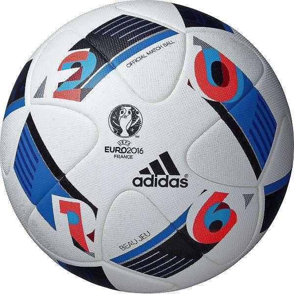 アディダス 2016 AF5150 ボー ジュ 試合球 UEFA EURO2016 公式試合球 サッカーボール