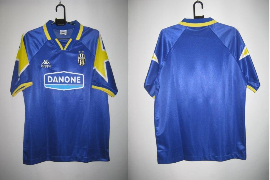 レジェンド カッパ 1994-95 JUVE ユベントス アウェイ レプリカ ゲーム シャツ 半袖