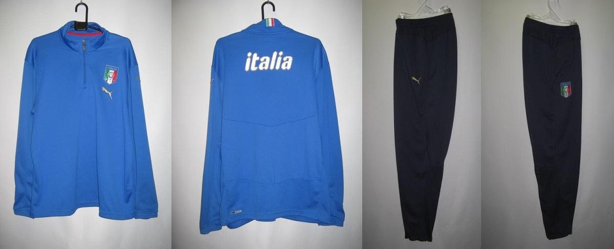 プーマ 2008-09 733875-733877-01 イタリア トレーニング ジャケット・パンツ 上下 セット
