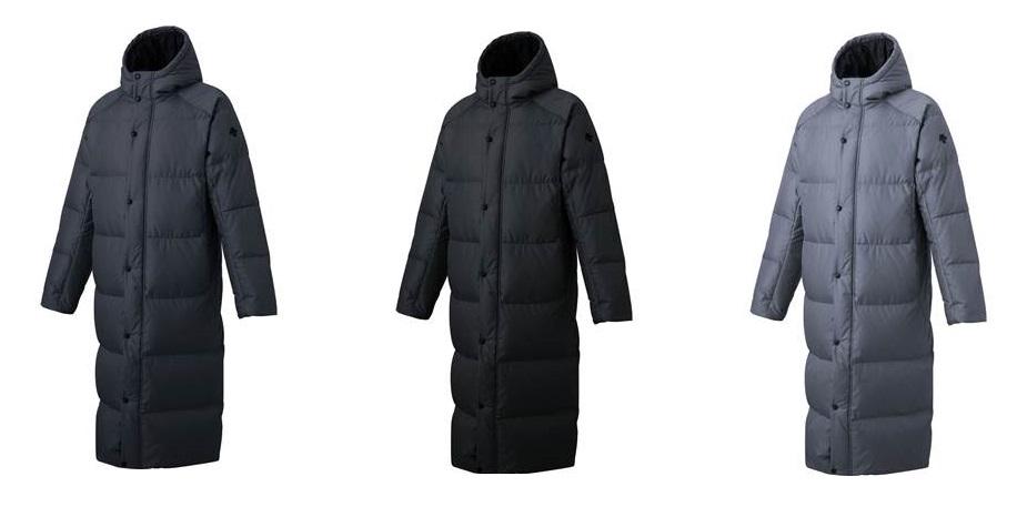 デサント 2019FW DMMOJC43 スーパー ロング 正規激安 ダウン ベンチ ◆高品質 コート