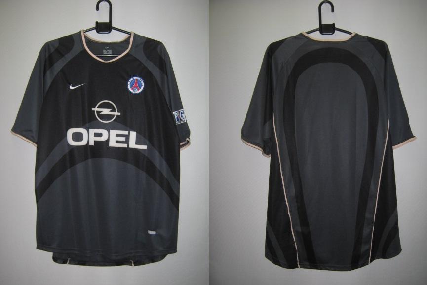 ナイキ 2001-02 パリ サンジェルマン レプリカ ゲームシャツ 半袖
