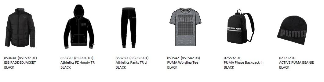 プーマ puma-2019-mens 福袋 パテッドジャケット パーカー上下 シャツ リュック ビーニー ハッピー バック 合宿 セット