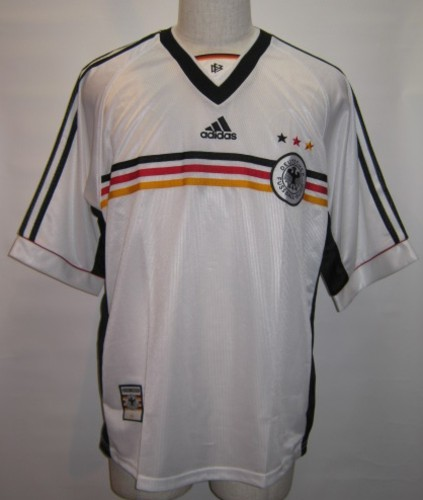 アディダス 1998-99 ドイツ ホーム レプリカ ゲームシャツ 半袖