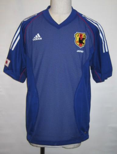 アディダス X4851-381428 2002-03 日本代表 ホーム オーセンティック レプリカ ユニホーム ゲームシャツ 半袖