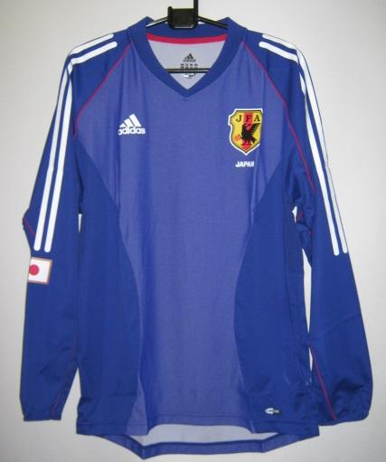 アディダス X4850-381426 2002-03 日本代表 ホーム レプリカ ユニホーム ゲームシャツ 長袖
