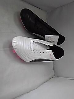 プーマ パラメヒコライト15HG SP ホワイト×ブラック×ピンク 日本製 トリックス 左右非対称カラー