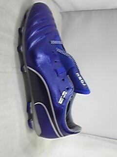 プーマ プーマ ワン J 1 HG ,(04)ソーダライト ブルー/ピーコート/プーマ シルバー サッカースパイクシューズ カンガルーレーザー 日本製