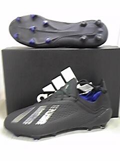 アディダス adidas エックス 18.1 FG/AG コアブラック/コアブラック/ボールドブルーメンズ BB9346 サッカー・スパイク シューズ  天然芝/人工芝用
