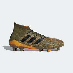 Adidas predator 18.1 FGAG cm7412 trace olive F17 X core black soccer spiked shoes nature turf long pile artificial turf is for exclusive use