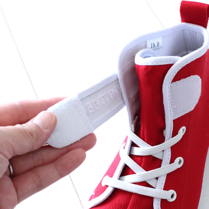 Whenever <> Marugo magic tape work tabi nintabi is not similar; kids (for the child) red (red) 16.0cm - 20.0cm [festival tabi work tabi child Festival clothes Festival article たび TABI NINJA SHOES ジカタビ ninja shoes festival article]