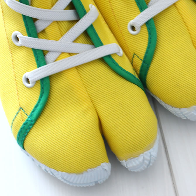 Whenever <> Marugo magic tape work tabi nintabi is not similar; kids (for the child) yellow (yellow) 16.0cm - 20.0cm [festival tabi work tabi child Festival clothes Festival article たび TABI NINJA SHOES ジカタビ ninja shoes festival article]