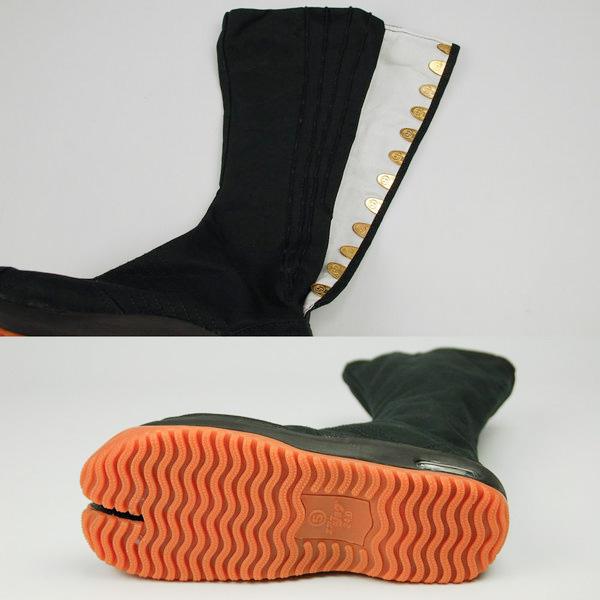 节日配件气垫与袜鞋年约翰 g (黑色 / 12 系扣) 22。 5 厘米-28。 5 厘米 AIRJOG,jikatabi 和 JIKATABI、 NINJASHOES 和忍者、 节、 艺术节和第五轮,像我们一样,marugo MARUGO