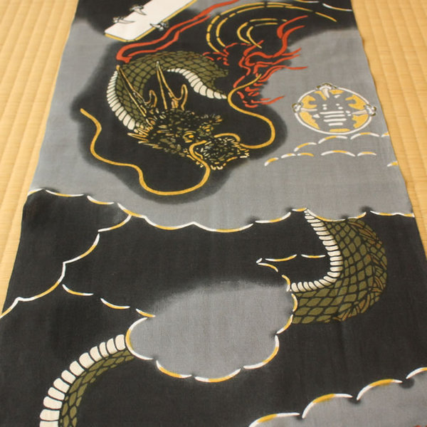 Hama info high made of Tiger note decontamination towel homare beads rising Dragon ~ HOMARETAMASHOURYU ~ * picture frames are sold separately * hand towel, washcloth, Tenugui, TENUGUI and Japanese towel and washcloth, facecloth and present and souvenir a