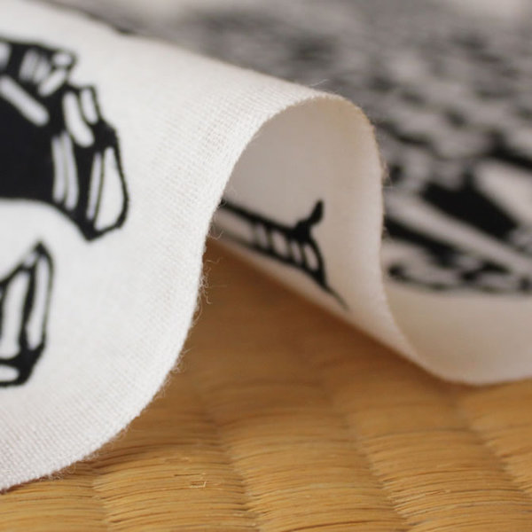 Note decontamination towel made of Tiger Hama info high Edo no Hana ~ EDONOHANA ~ * picture frames are sold separately * hand towel, washcloth, Tenugui, TENUGUI and Japanese towel and washcloth, facecloth and present and souvenir and gift and presents an