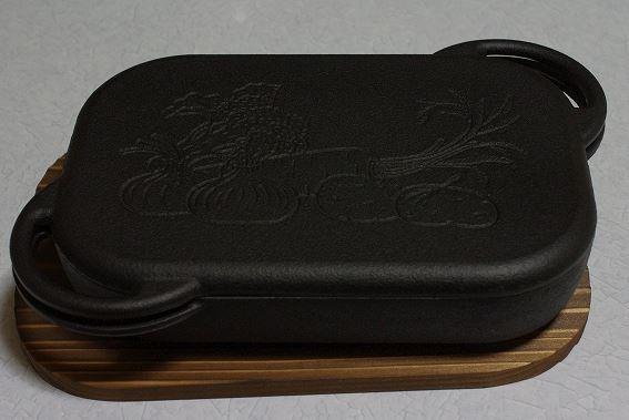【北海道、沖縄除き送料無料】南部鉄器 ベイクパン(IH・オーブントースター対応)