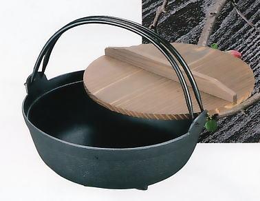 【送料無料】南部鉄器 鉄鍋 いろり鍋(9寸)