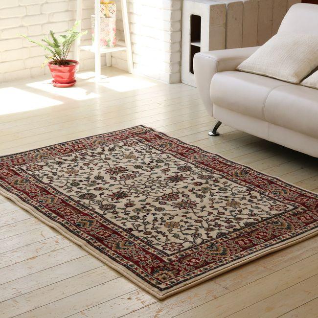 ウィルトン織りラグ 115×165【送料無料 カーペット 絨毯 じゅうたん ラグ】【代引不可】