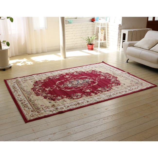 【送料無料】ビスコースラグ 200×290【送料無料 カーペット 絨毯 じゅうたん ラグ】【代引不可】
