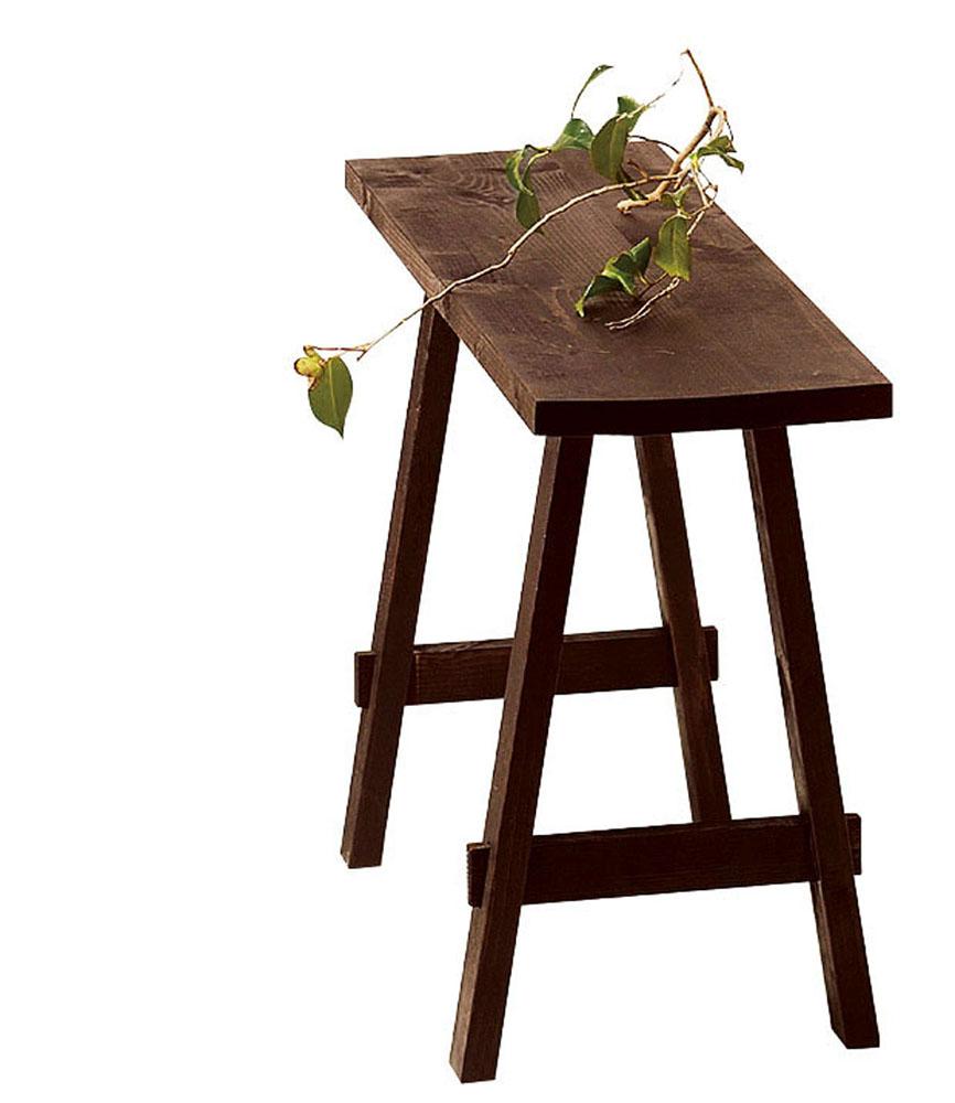 【送料無料】こしかけ型スリムテーブル