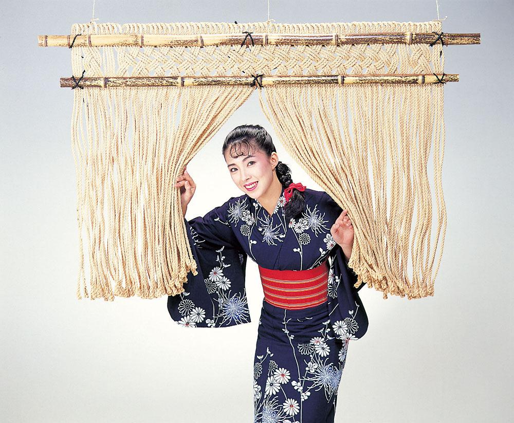 【送料無料】本格麻のれん(麻巾150cm)