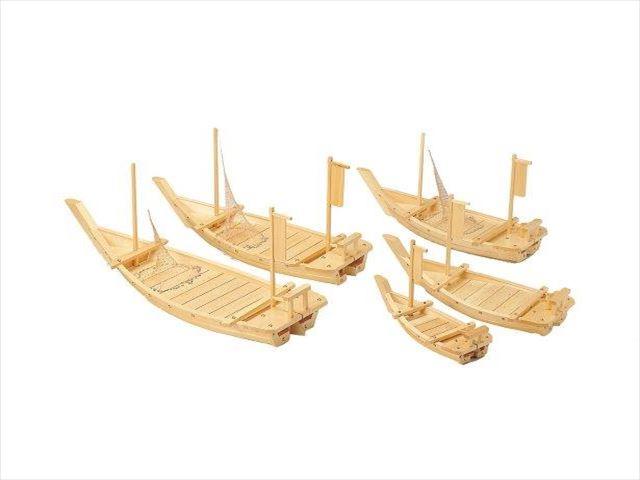 【送料無料】大型料理舟(M-195)