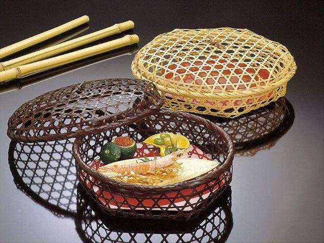 【送料無料】染竹・御篭弁当(塗板付)